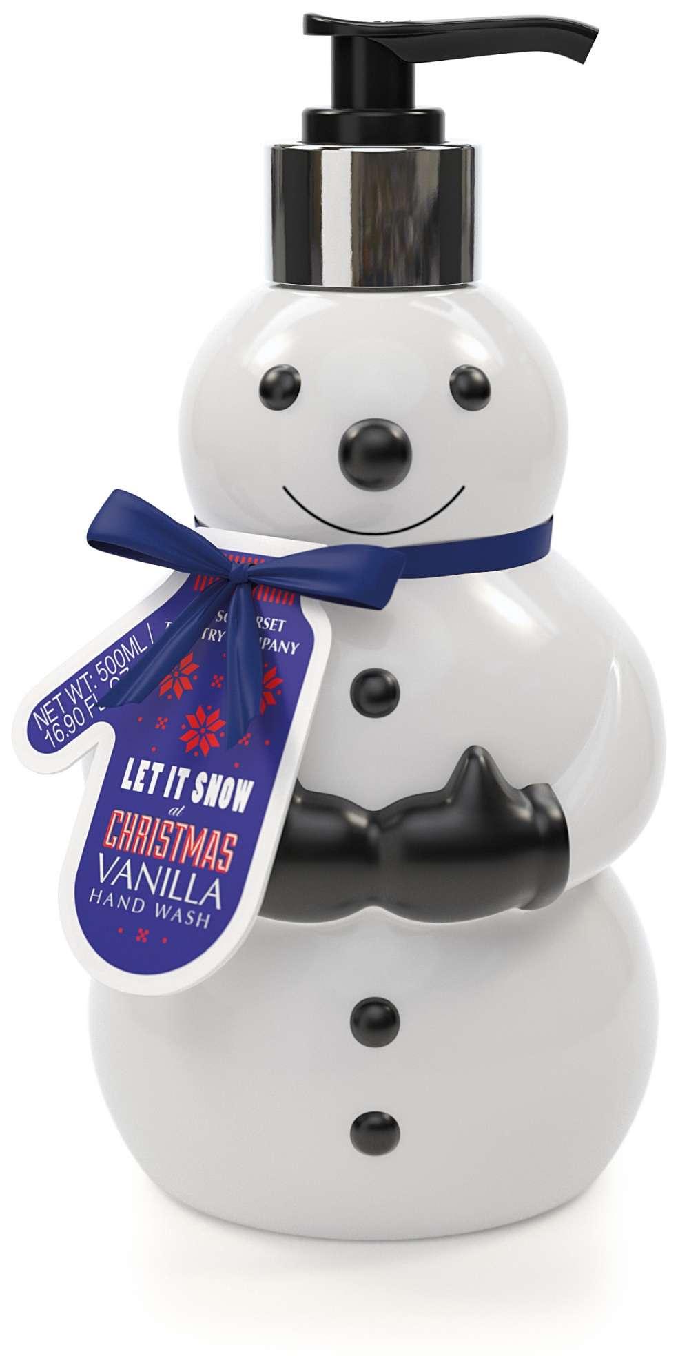 Xmas Snowman liquid hand wash