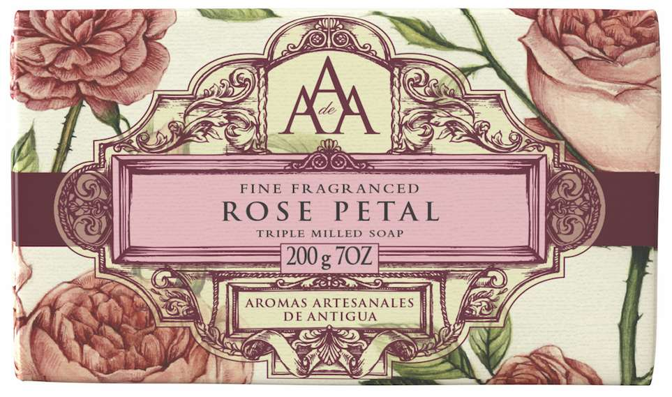 AAA Rose Petal floral soap bar