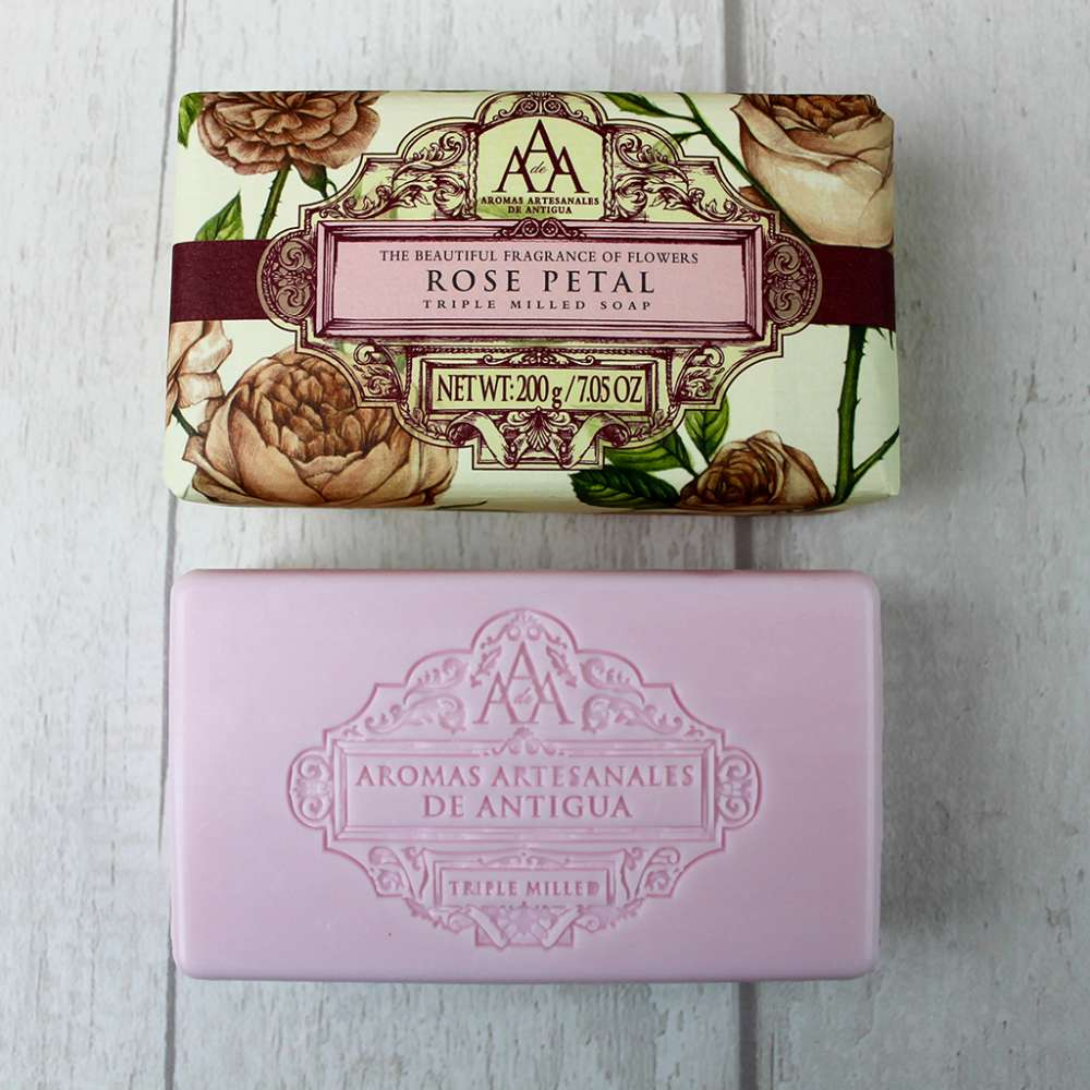 Aromas Aartesanales de Antigua Rose Petal Soap