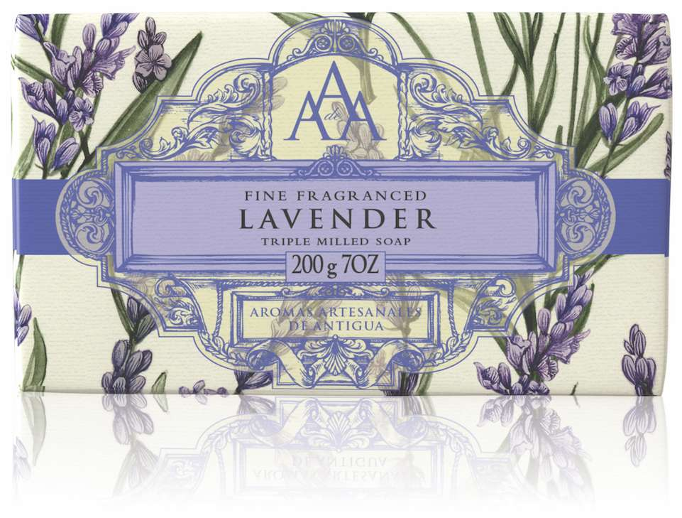 AAA Floral Soap Bar Lavender