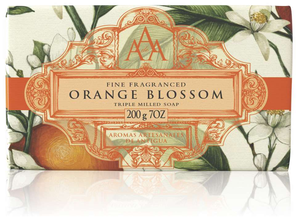 AAA Orange Blossom Floral Soap Bar