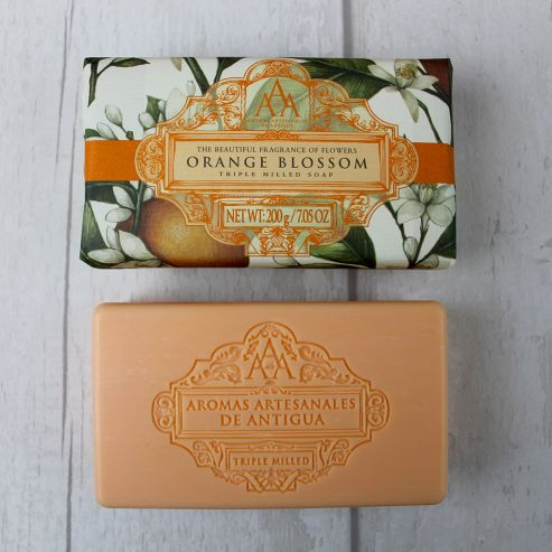 Aromas Artesanales De Antigua Orange Blossom Soap