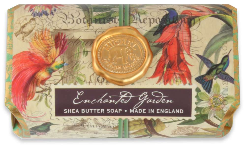 Michel Design Works - Enchanted Garden Large Soap Bar