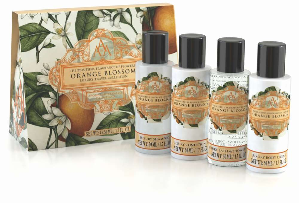 AAA Floral Travel Collection - Orange Blossom