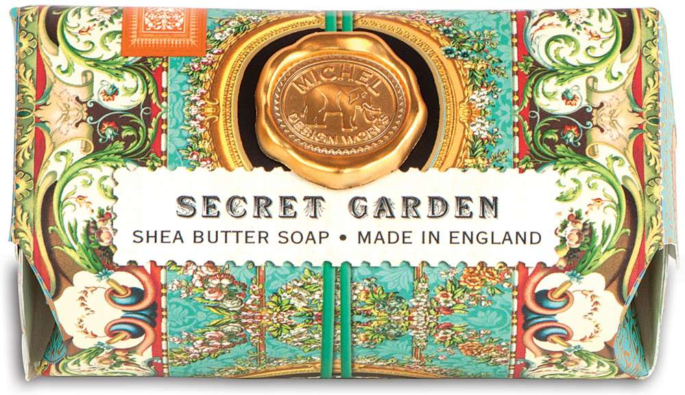 Michel Design Works - Secret Garden Large Soap Bar