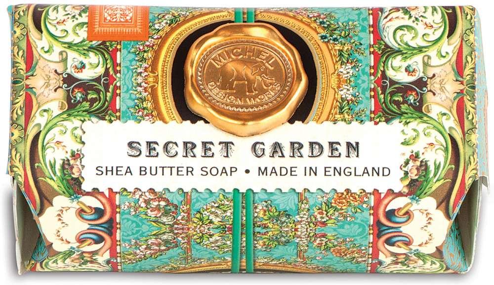 Michel Design Works - Secret Garden Large Soap Bar