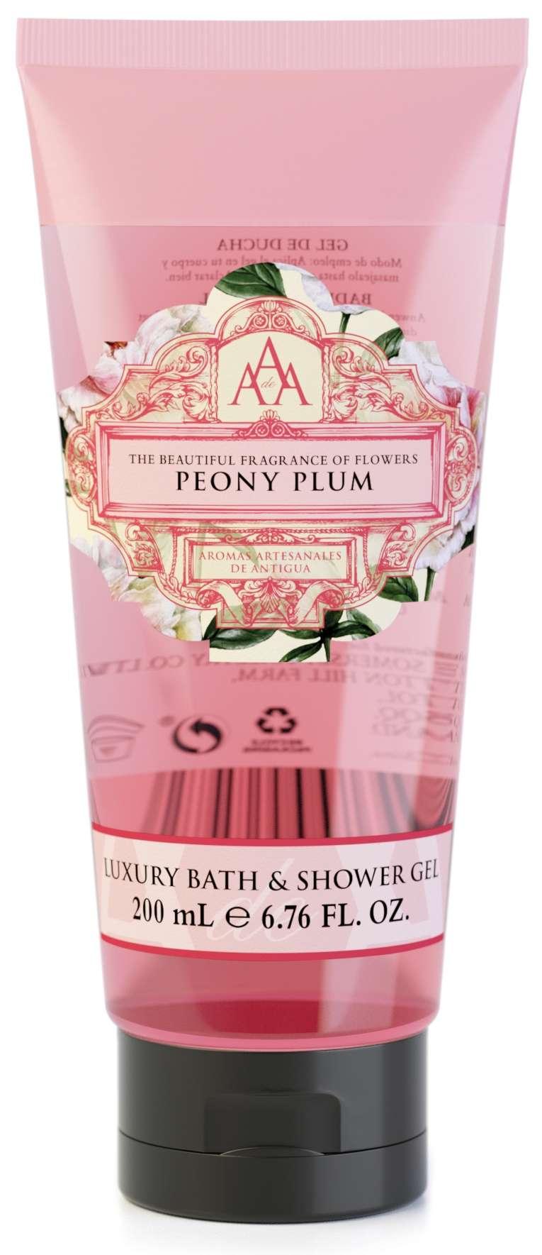 AAA Bath & Shower Gel Peony Plum