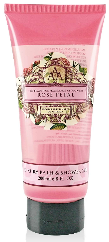 AAA Bath & Shower Gel Rose Petal