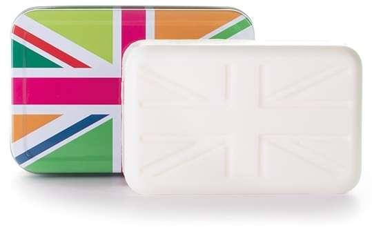 Union Flag soap & tin