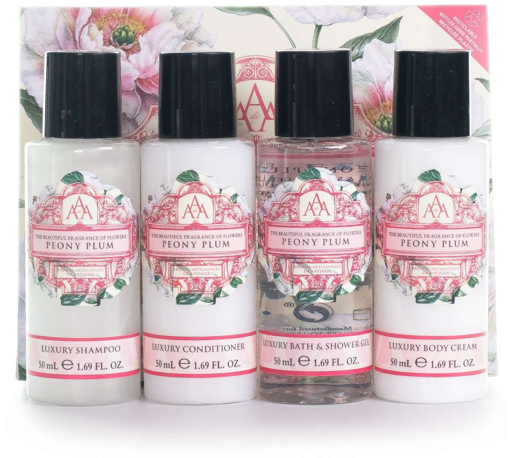 AAA Floral Mini Travel Collection - Peony Plum