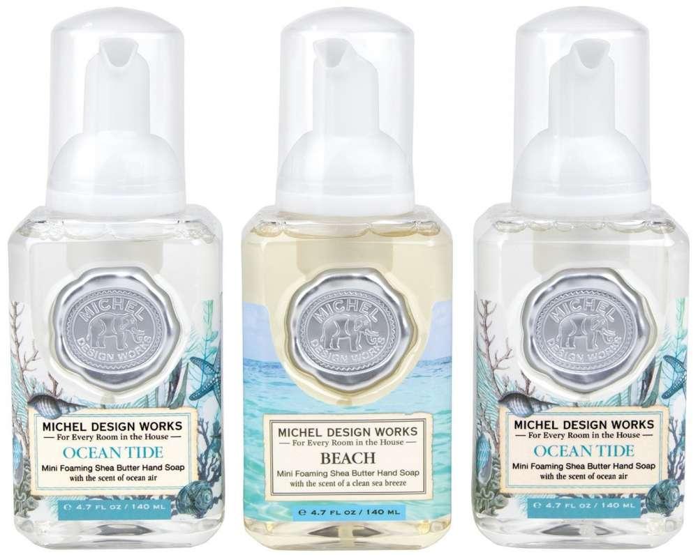 Mini Foaming Hand Soap Set - Ocean Tide, Beach and Ocean Tide