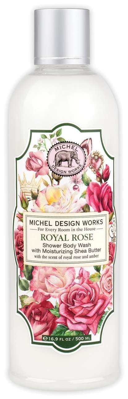 Royal Rose Shower Body Wash
