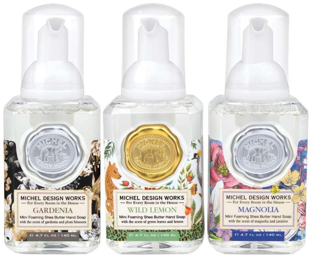 Mini Foaming Hand Soap Set - Gardenia, Wild Lemon and Magnolia