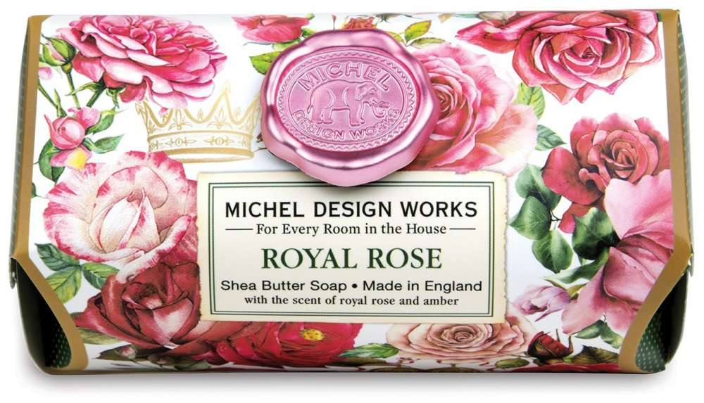 Royal Rose Large Soap Bar