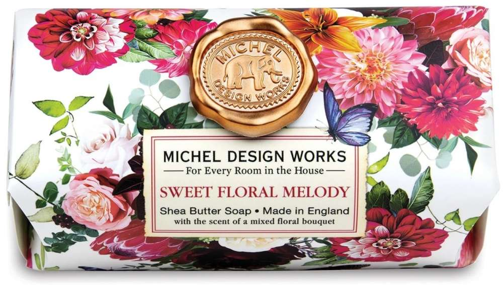 Sweet Floral Melody Large Soap Bar