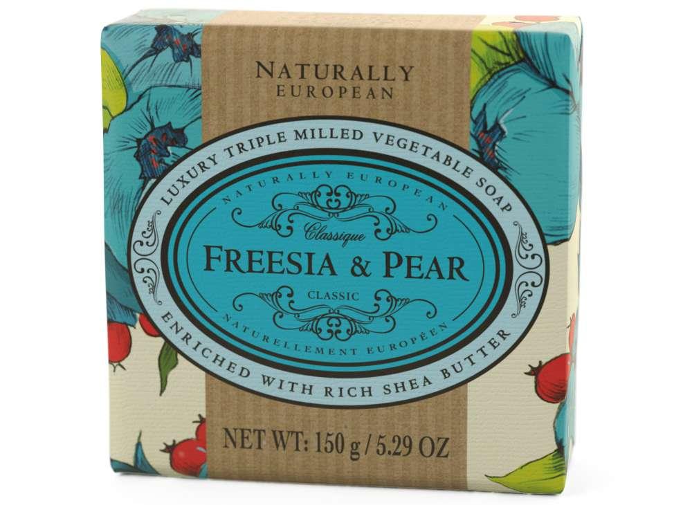 Naturally European Freesia & Pear Soap Bar