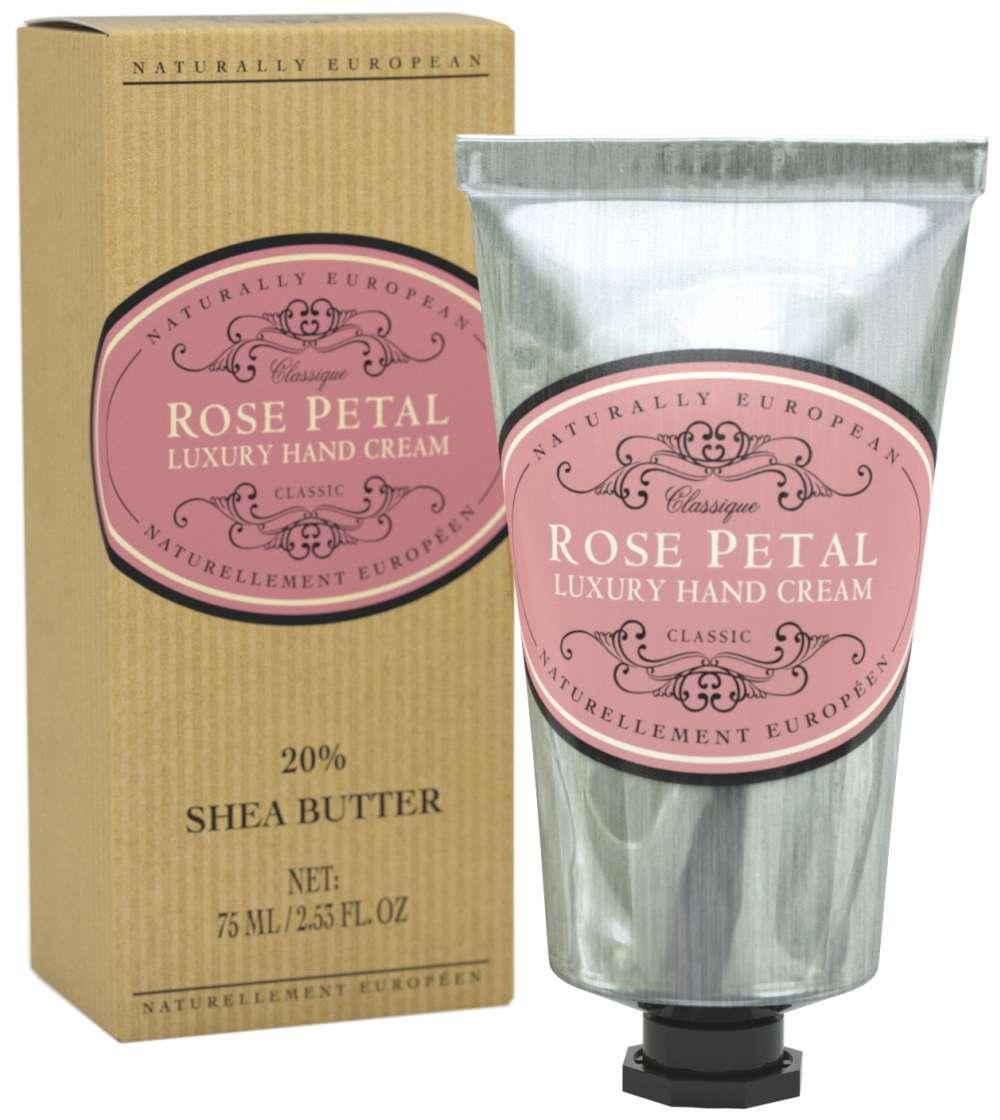 Naturally European Rose Petal Hand Cream