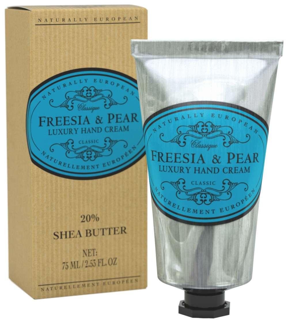 Naturally European Freesia & Pear Hand Cream