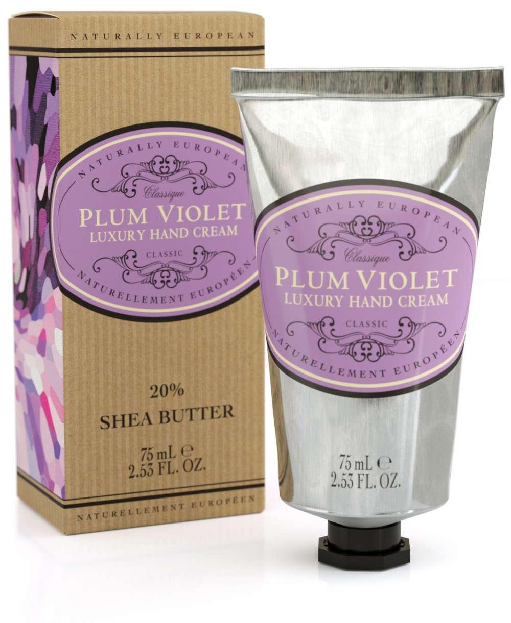 Naturally European Plum Violet Hand Cream