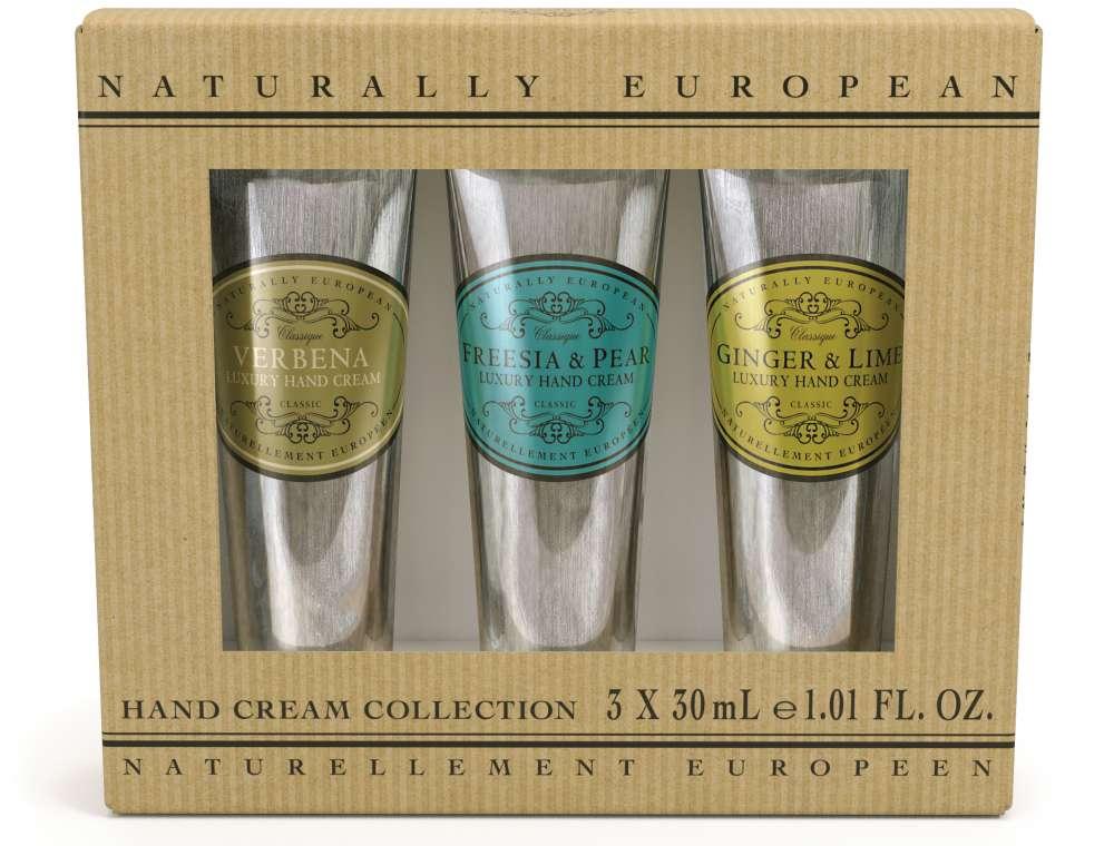 Naturally European Mini Hand Cream Collection