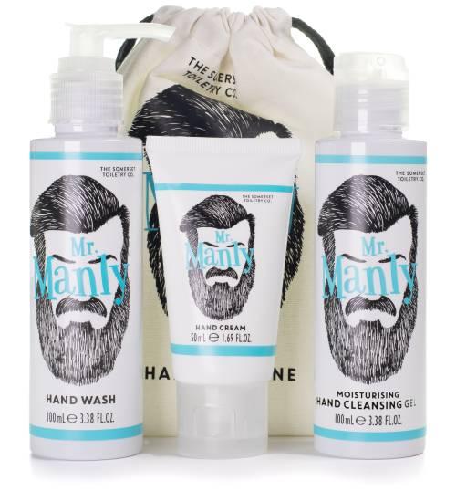 Mr Manly Hand Hygiene Kit - mini gift set