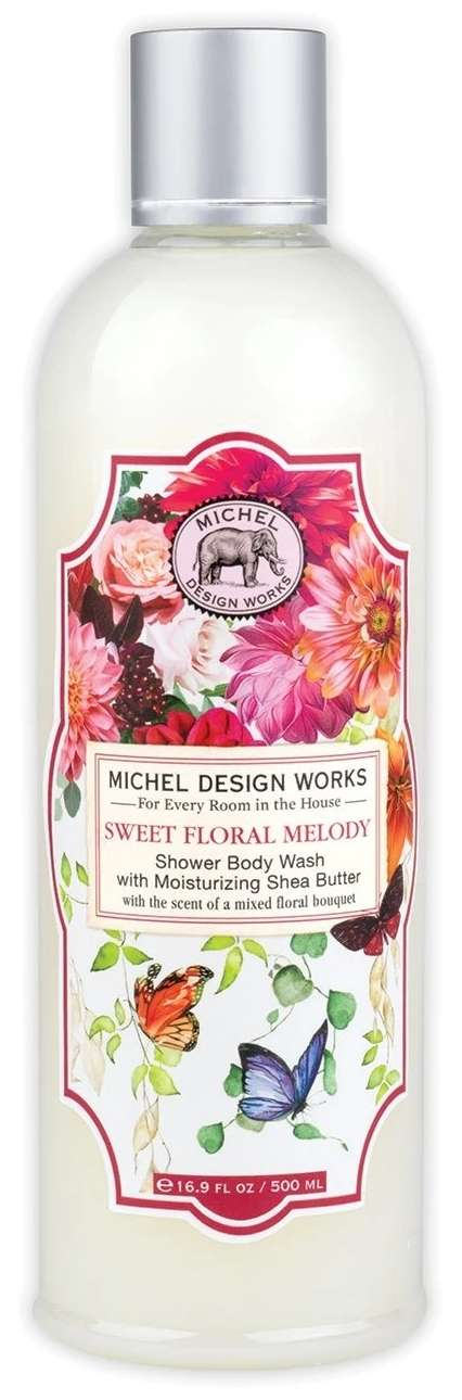 Sweet Floral Melody Shower Body Wash