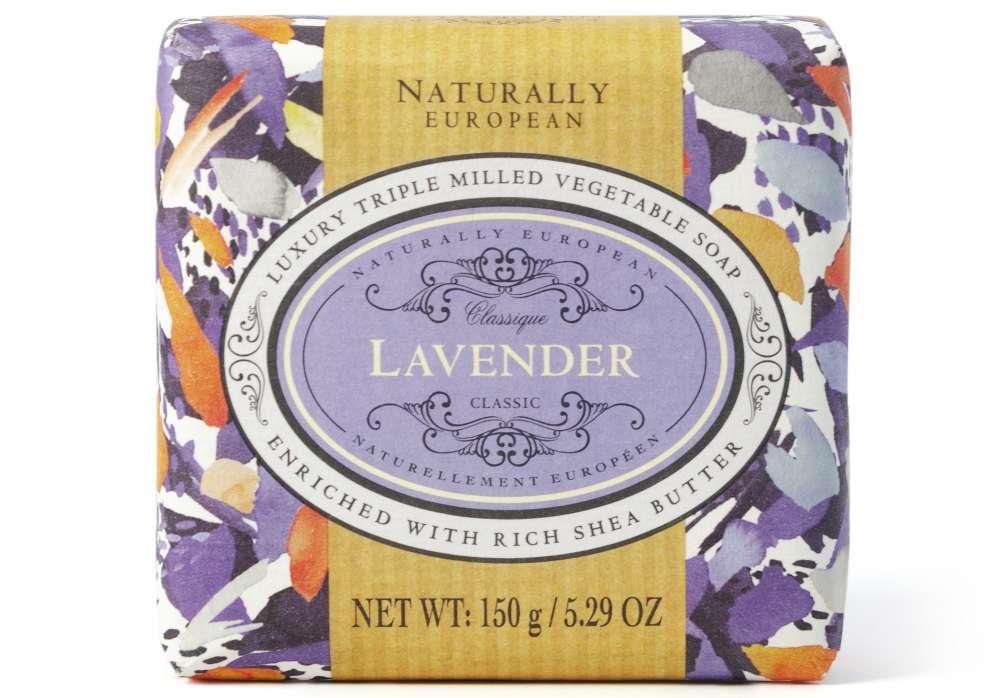 Naturally European Lavender Soap Bar