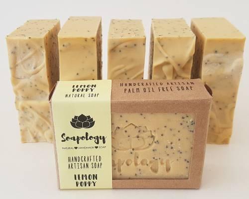Lemon Poppy soaps