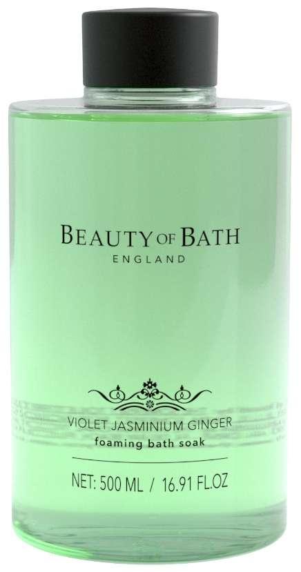 Beauty Of Bath Violet Jasminium Ginger Foaming Bath Soak