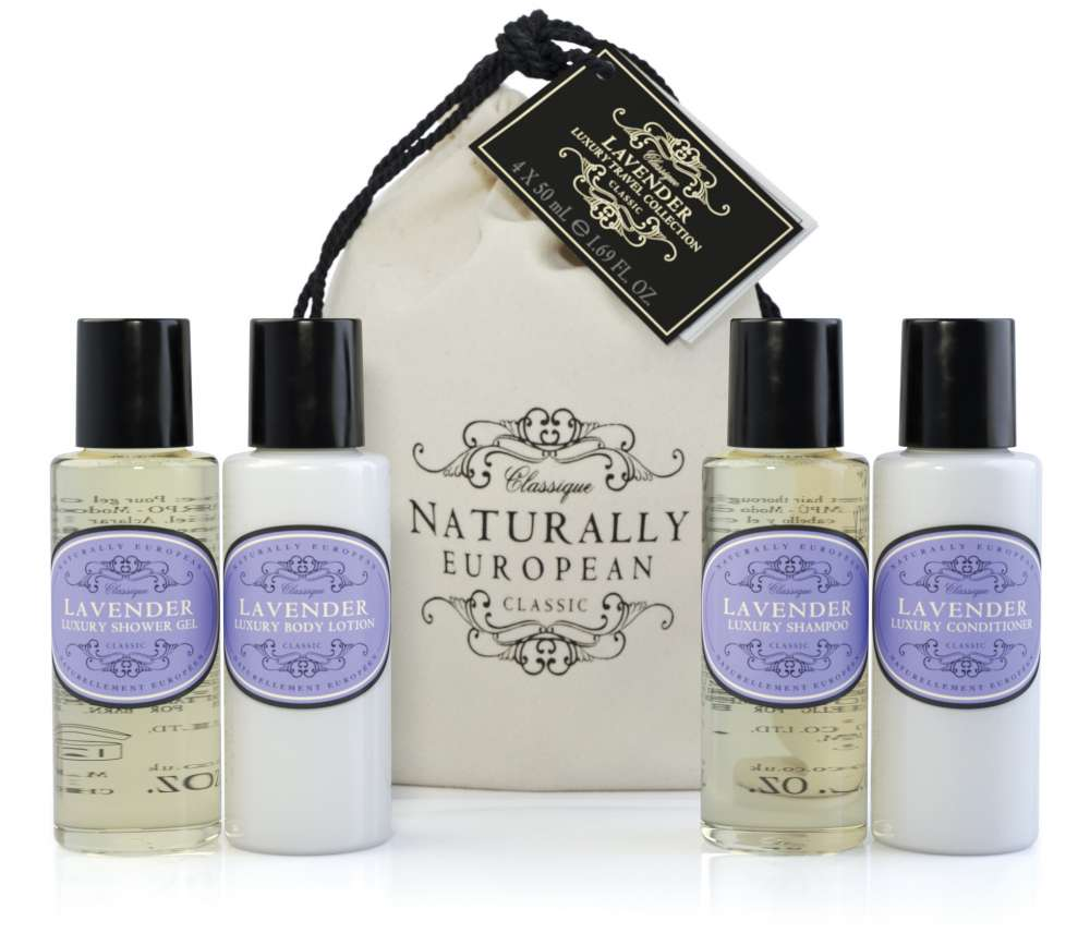Naturally European Lavender Travel Collection