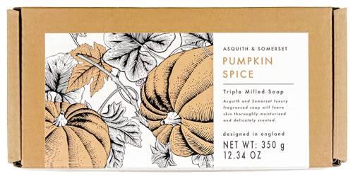 Pumpkin Spice Soap Packaging