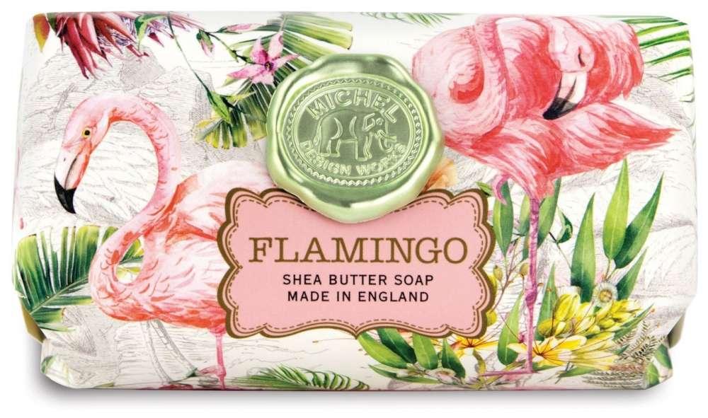 Flamingo Large Soap Bar