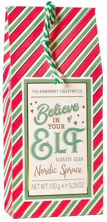 Believe In Your Elf soap bar gift