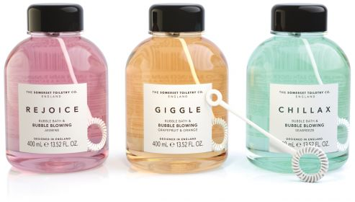 Bubble Bath & Bubble Blower range