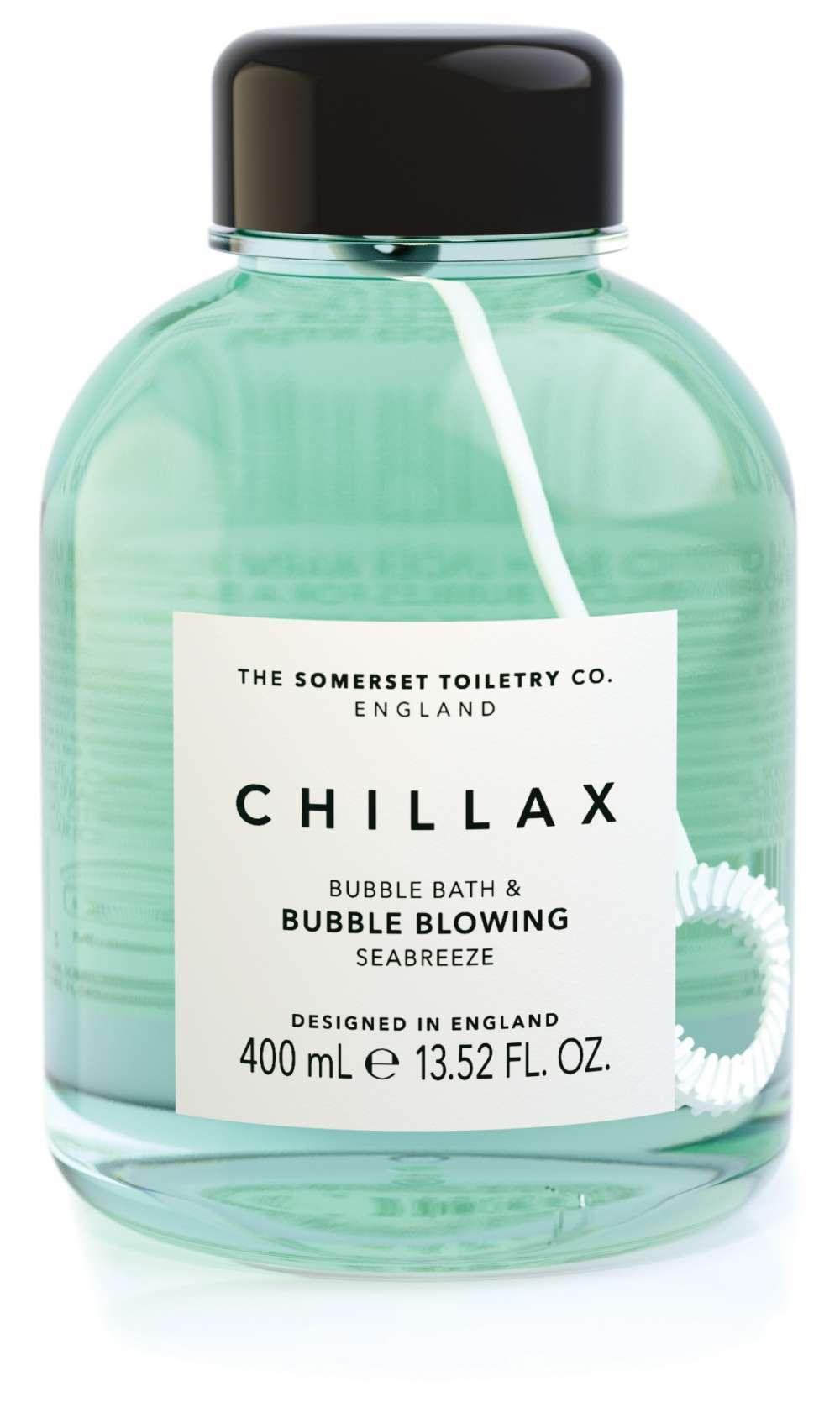 Bubble Bath & Bubble Blower - Chillax
