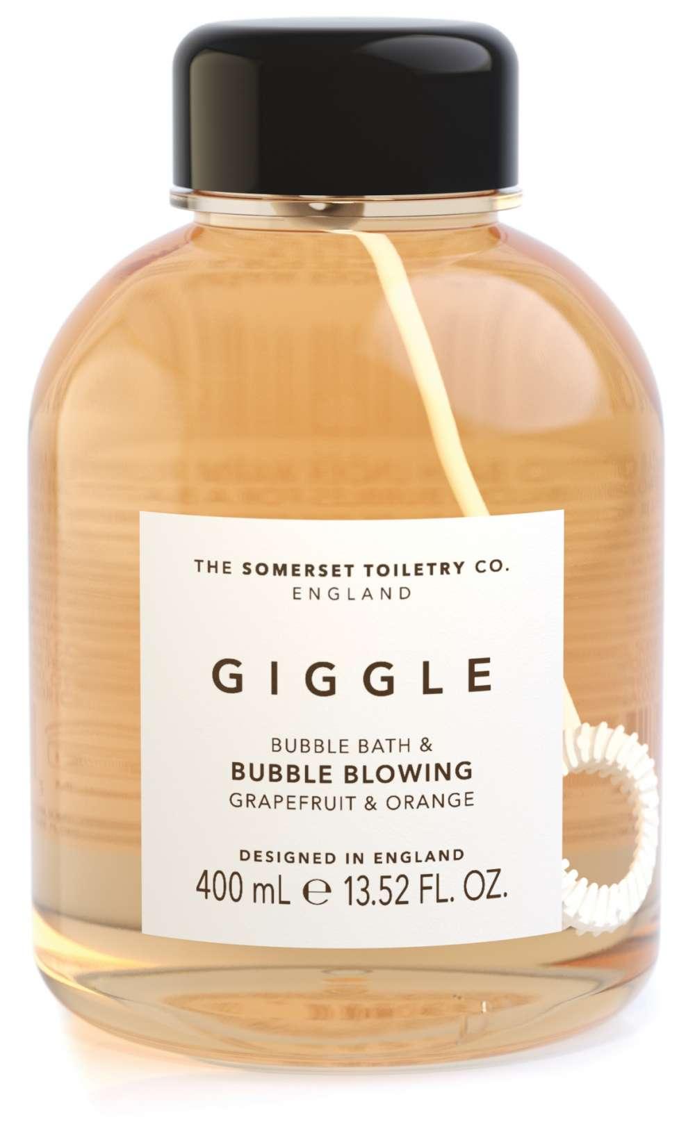 Bubble Bath & Bubble Blower - Giggle