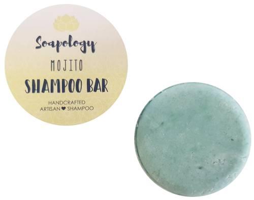 Mojito natural shampoo bar