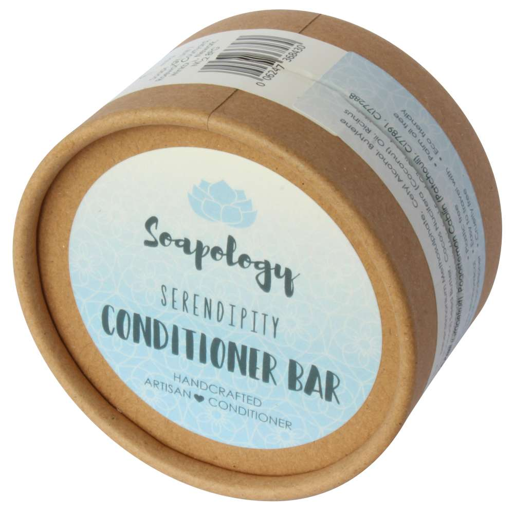 Serendipity natural conditioner eco packaging