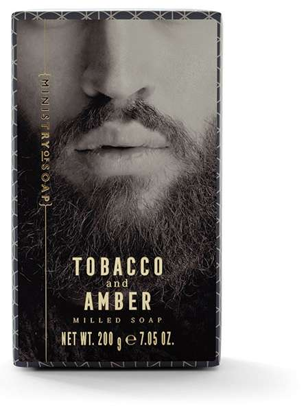 Tobacco And Amber Soap