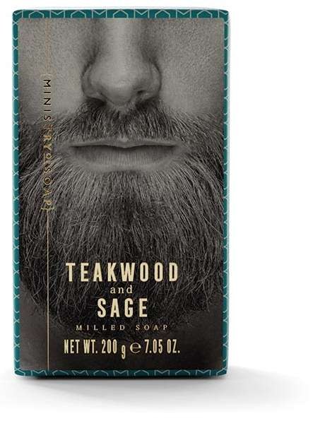 Teakwood And Sage Soap Bar