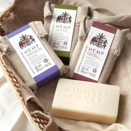 Hemp Oil Soap Bar Collection