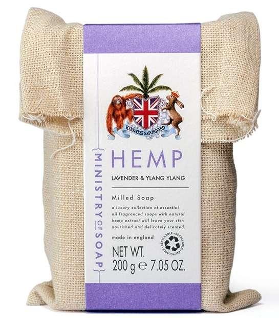 Lavender & Ylang Ylang Hemp Oil Soap Bar