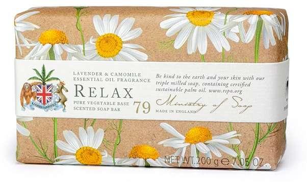 Relax - Lemon & Camomile Soap Bar
