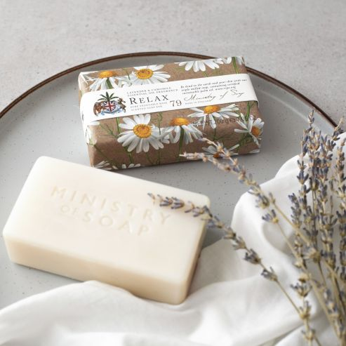 Natural Wellbeing - Relax Soap Bar