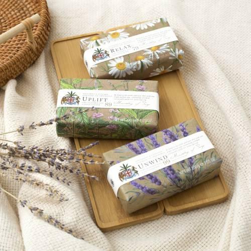 Natural Wellbeing soap bar range