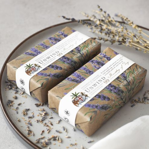 Natural Wellbeing - Peppermint & Lavender Soap Bar