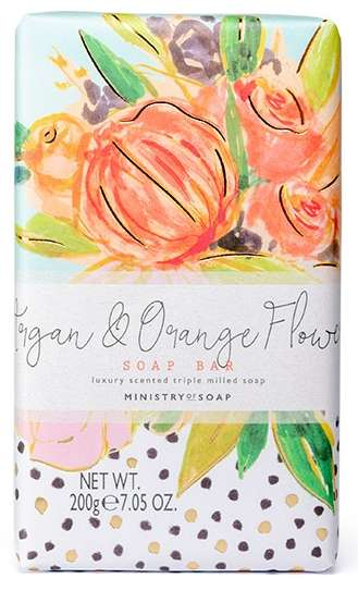 Argan & Orange Flower Soap Bar