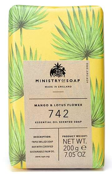 Mango & Lotus Flower Soap Bar