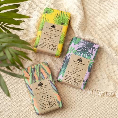 Natural Rainforest range of soaps