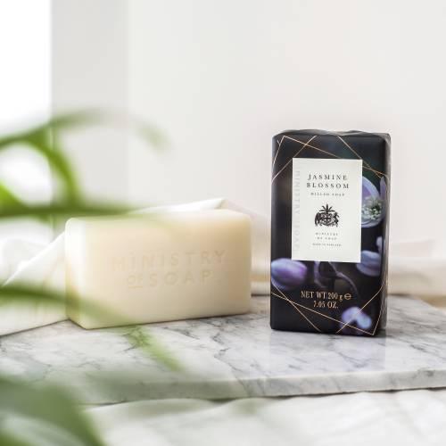Dark Floral soap bar